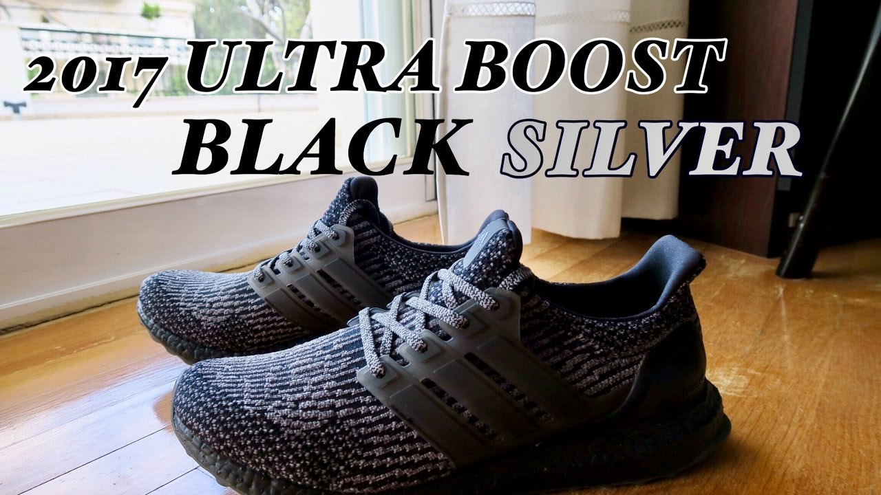 ADIDAS ULTRA BOOST 3.0 TRIPLE BLACK LTD 44 NAGELNEU in