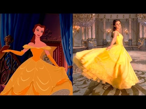 Thumbnail: Beauty and the Beast in REAL LIFE - MOVIE vs CARTOON