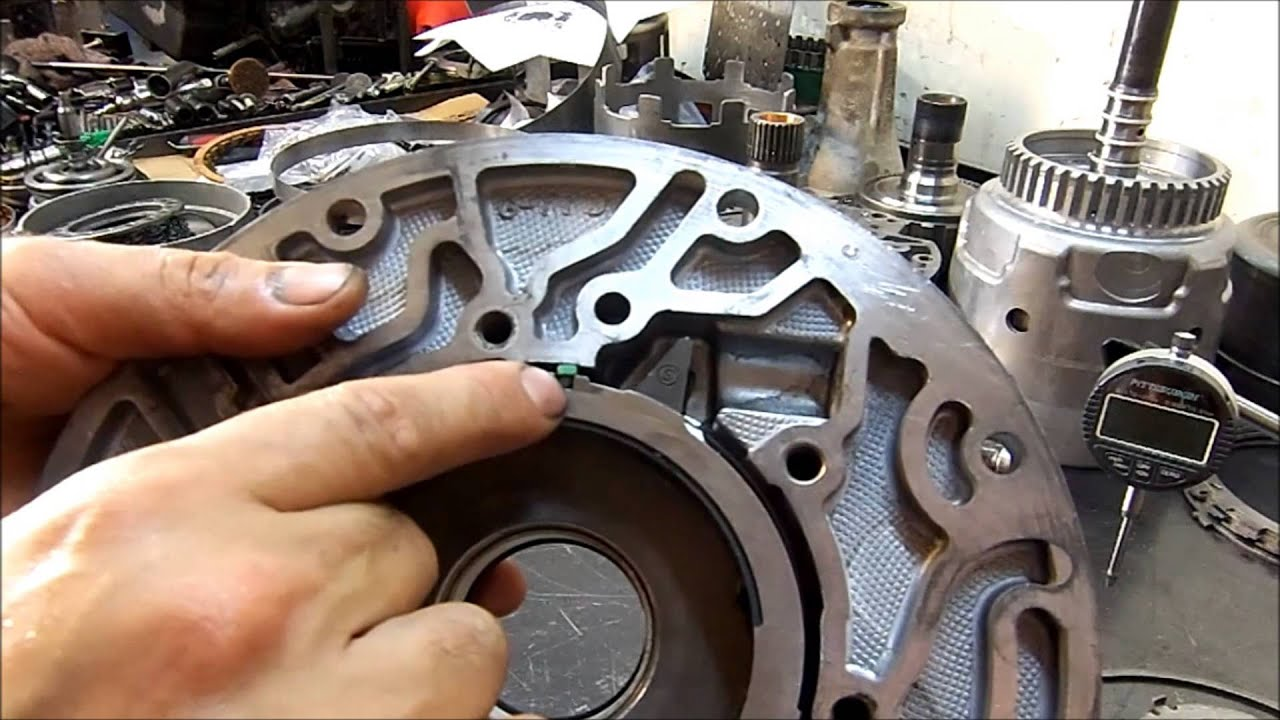 Gm 4l60 E Transmission Re Assembly Rebuild