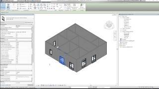 Настройка 3D вида Autodesk Revit и рассмотрение семейств Deceuninck в 3D пространства