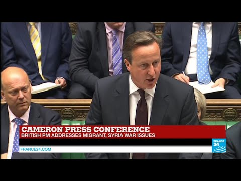 Europe migrant crisis: UK to welcome 20.000 migrants and contribute 1 billion £, Cameron says