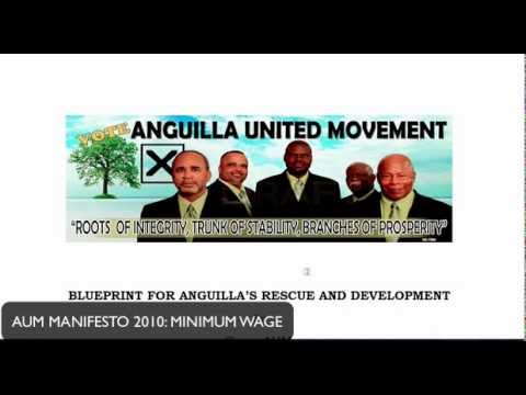 ANGUILLA MINIMUM WAGE : AUM LIES AND PROMISES