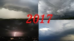 ☁ Weather annual review 2017 in the area Stuttgart ☂ Wetterrückblick 2017 Stuttgart - Reutlingen
