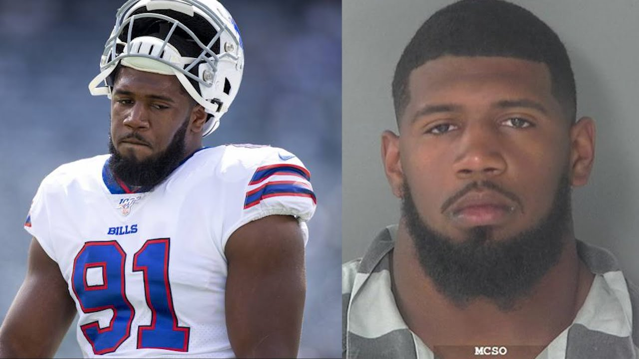 Bills' Ed Oliver arrested, charged with DWI, unlawfully carrying a gun