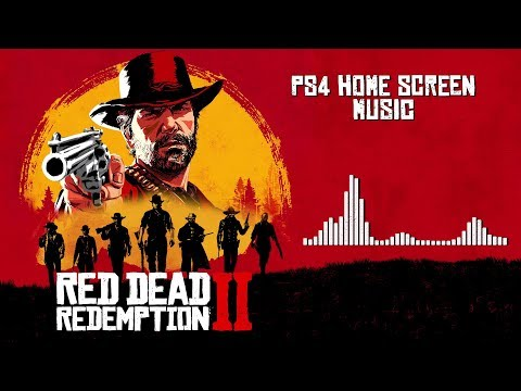 Red Dead Redemption 2  Soundtrack - PS4 Home Screen    60fps With Visualizer