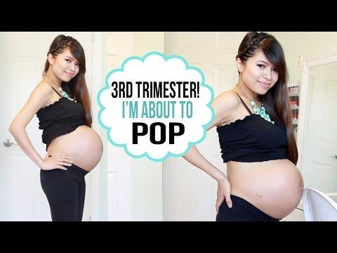 Pregnancy Vlog #3 ♥ Third Trimester, Haul, Names & Baby Bump