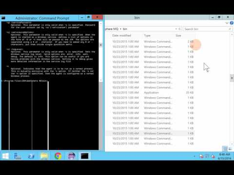 IBM WebSphere MQ File Transfer Edition ( WMQFTE ) - FTE Commands - Video 3