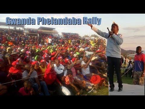 Chamisa speaking fluent Ndebele - Gwanda Rally
