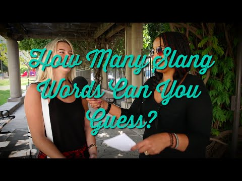 Woman On the Street: How Many Slang Words Can You Guess? | HelloGiggles