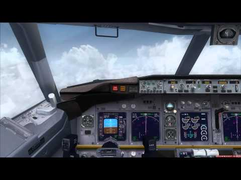 Boeing 737-700 at 99.000ft Topspeed 850kts - YouTube