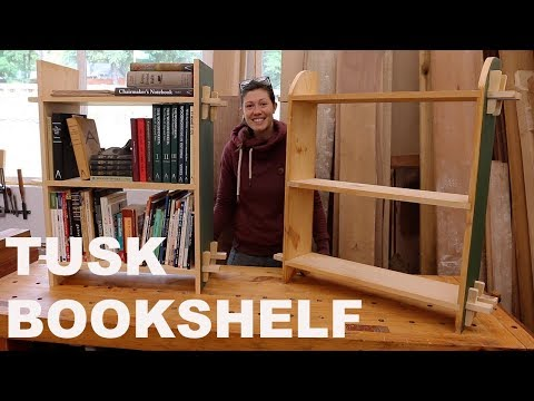 Be taught Primary Woodworking Joinery: Bookshelf Construct
