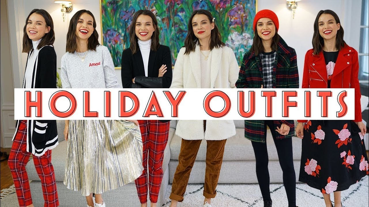 [VIDEO] - Holiday Outfit Ideas YOU Requested | Ingrid Nilsen 1