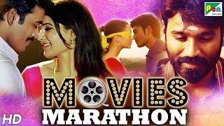 Dhanush (HD) New Hindi Dubbed Movies 2020 | Movies Marathon | Paap Ki Kamai, Power Paandi