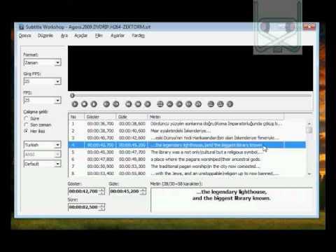 Subtitle Workshop İle Altyazı Nasıl Çevrilir?