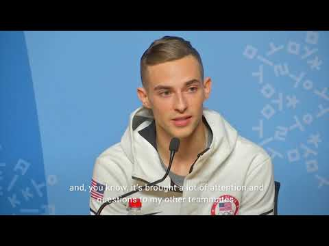 US skater Adam Rippon doesn't want Olympic experience 'to be about Mike Pence'