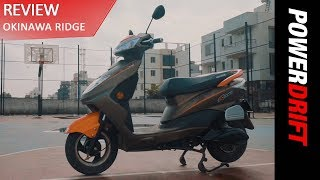 Can the Electric Okinawa Ridge replace the Honda Activa? : PowerDrift