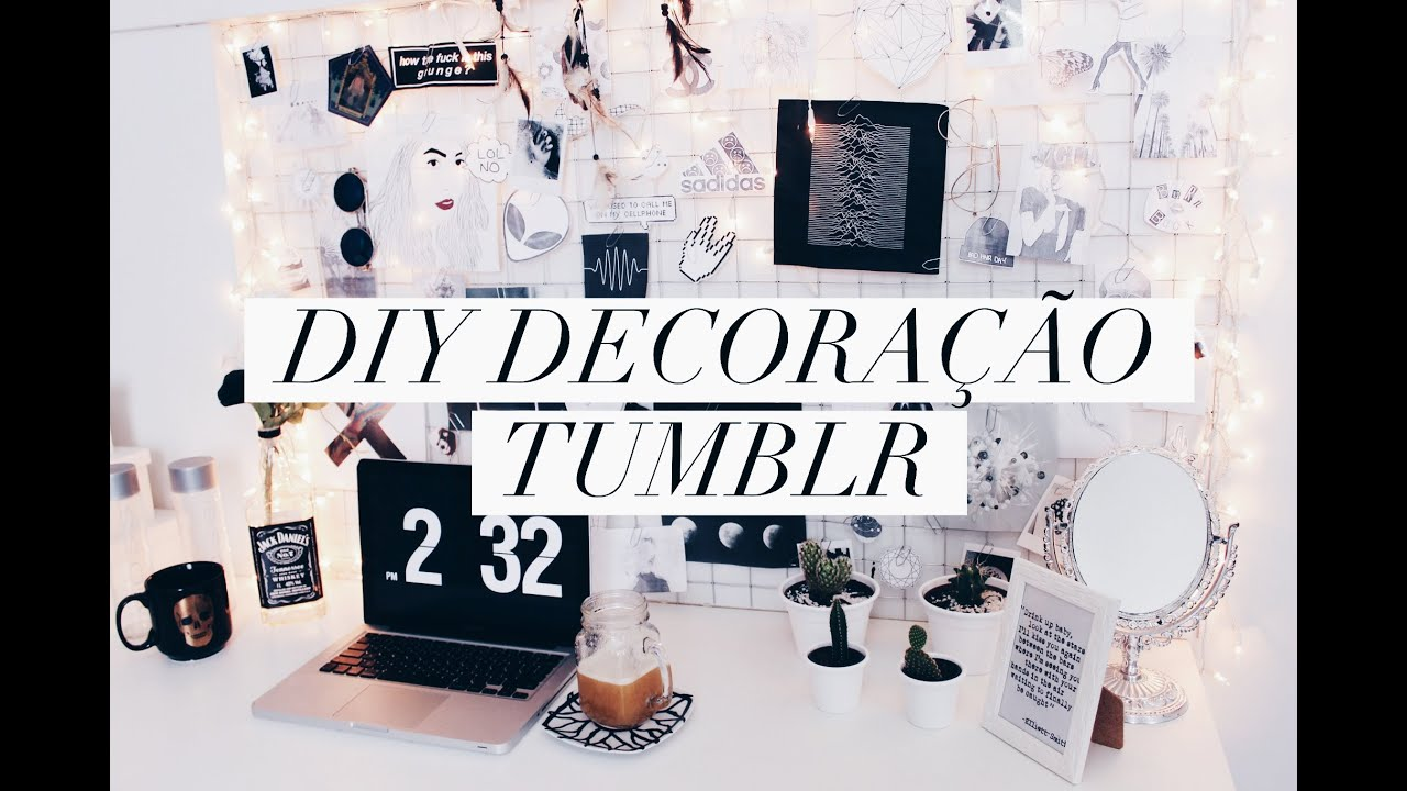 Diy decora o estilo tumblr pinterest mural de fotos de for Fotos pinterest