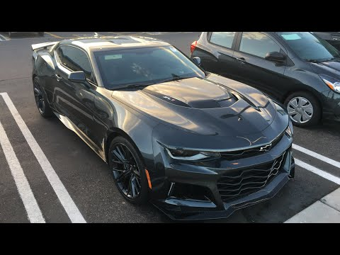 MY NEW 650 HP 2018 CAMARO ZL1 !! IM IN AWE!!!!!