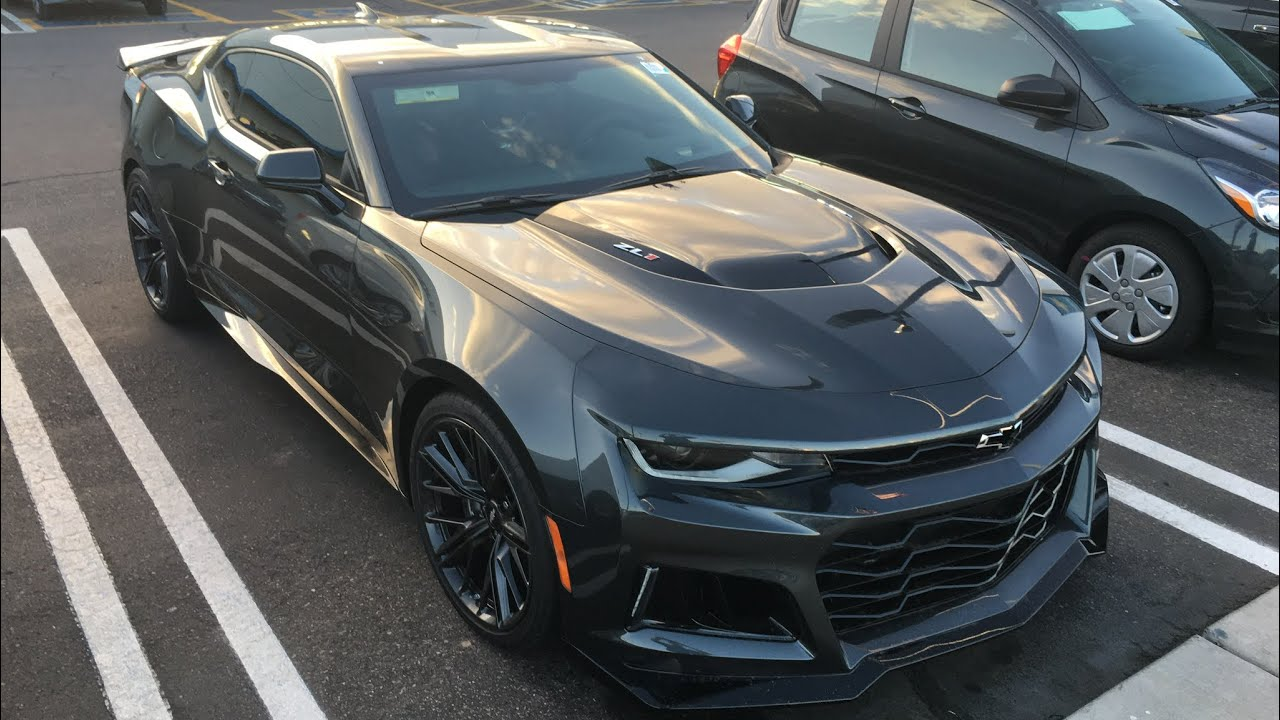MY NEW 650 HP 2018 CAMARO ZL1 !! IM IN AWE!!!!! - YouTube