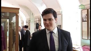 Смотреть видео В Санкт-Петербургской епархии открылась выставка, посвященная служению военного духовенства онлайн