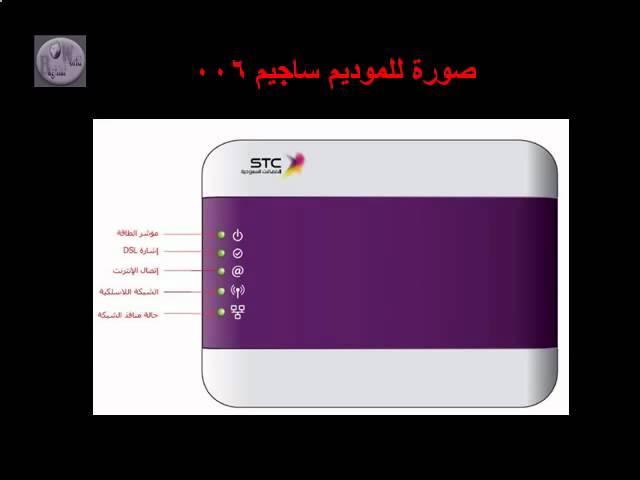 شرح اعدادات مودم افاق Dsl شامل Youtube