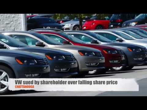 VW sued by shareholder over falling stock prices