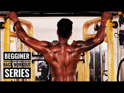 BEGGINERS BACK WORKOUT SERIES|GYM LOVER |DHEERAJ BATHAM |fitness villa| latest back workout video thumbnail