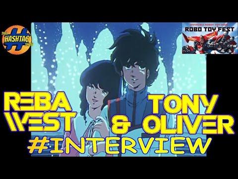 Robotech's Tony Oliver (Rick Hunter) & Reba West (Lynn Minmay) Interview