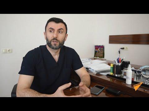 Врач-армянин из Москвы спасает жизни в Нагорном Карабахе