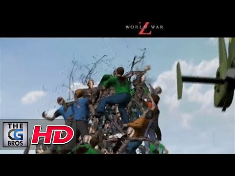 "CGI Previs : ""World War Z - Previs REEL"" by Halon Entertainment"