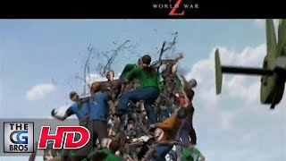 "CGI Previs : ""World War Z - Previs REEL"" by Halon Entertainment 