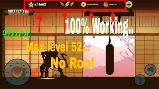 shadow fight 2 titan mod apk max level