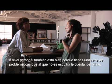 Versió castellà - Un Taller de tallers d'escultura