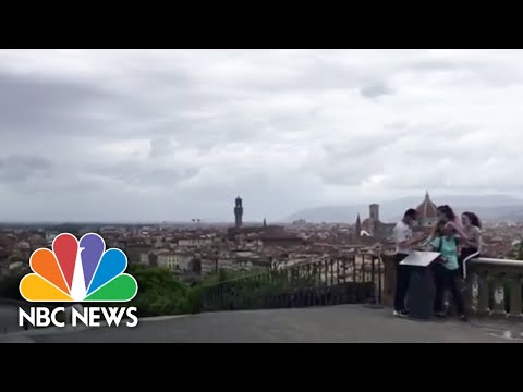 Italy Hopes To Reopen Tourism As It Eases Out Of Coronavirus Lockdown | NBC News NOW