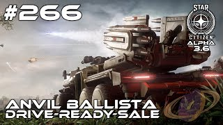 Star Citizen #266 Anvil Ballista - DriveReadySale [Deutsch]