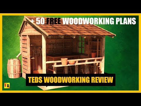 Teds Woodworking Review + 50 FREE Woodworking Plans