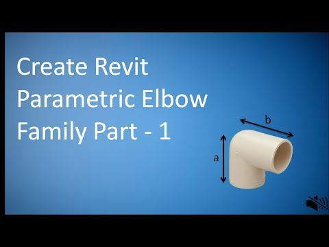Revit Creating Elbow Family Part 1 of 5 Lookup Table