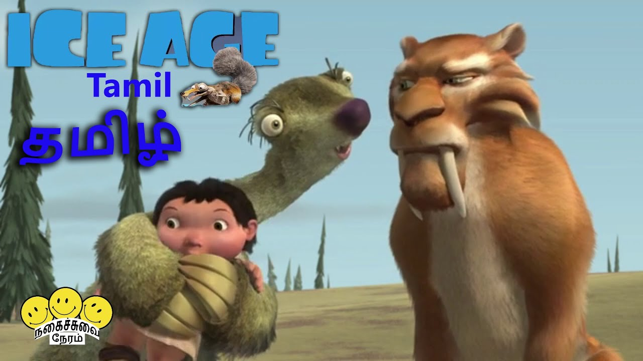Download Ice Age 2002   Tamil   Part - 2  Sid finding food for baby