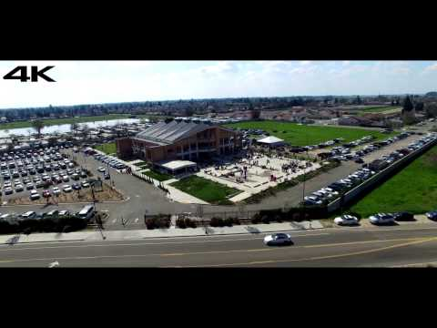 4k Gurudwara Singh Sabha 4k Video. Fresno, Ca