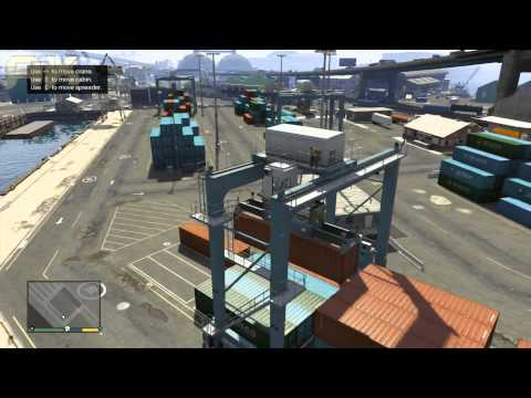 Grand Theft Auto 5-Walkthrough Part 24-Mission#23-Scouting The Port
