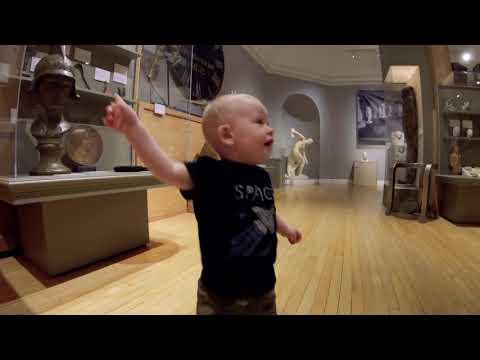 Logan at the Berkshire Museum 9/6/18