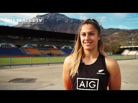 Marcelle Parkes joins the Black Ferns family