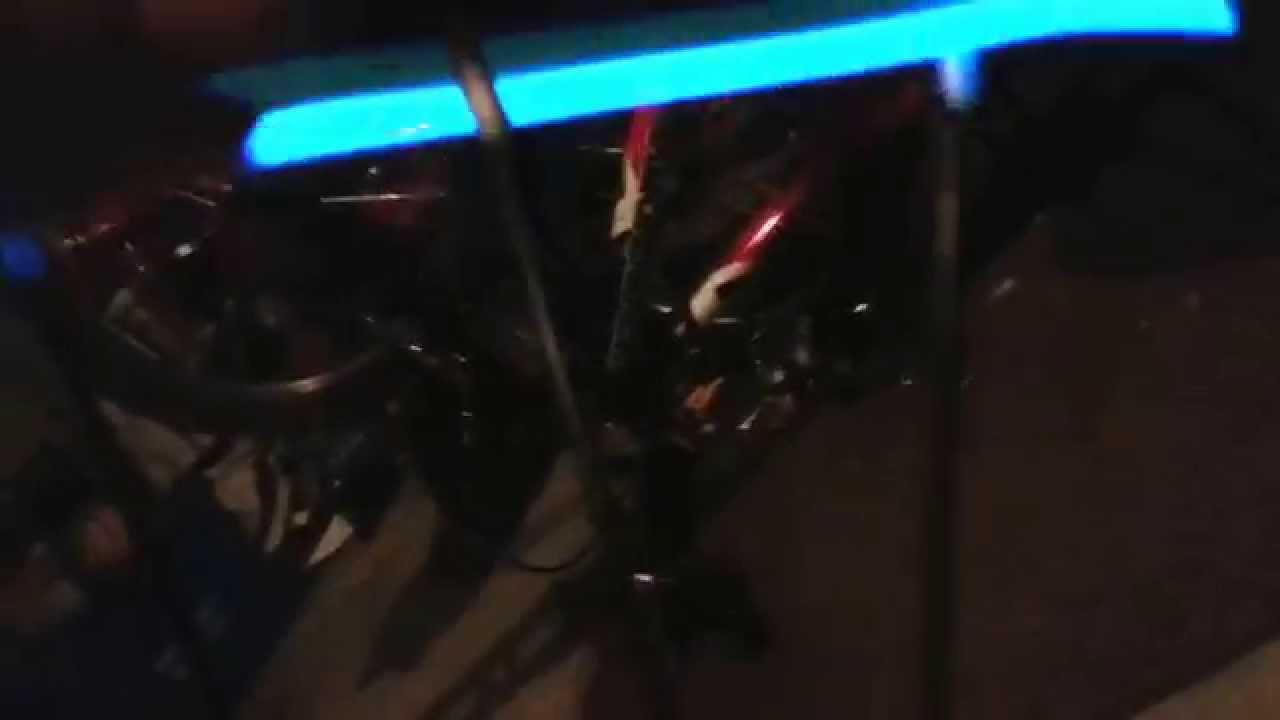 El wire on bike mod - YouTube