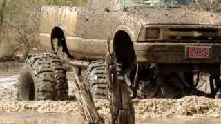 """HUGE MUD TRUCKS STUCK on 54"""" Boggers - Chevy Silverado and S10"""