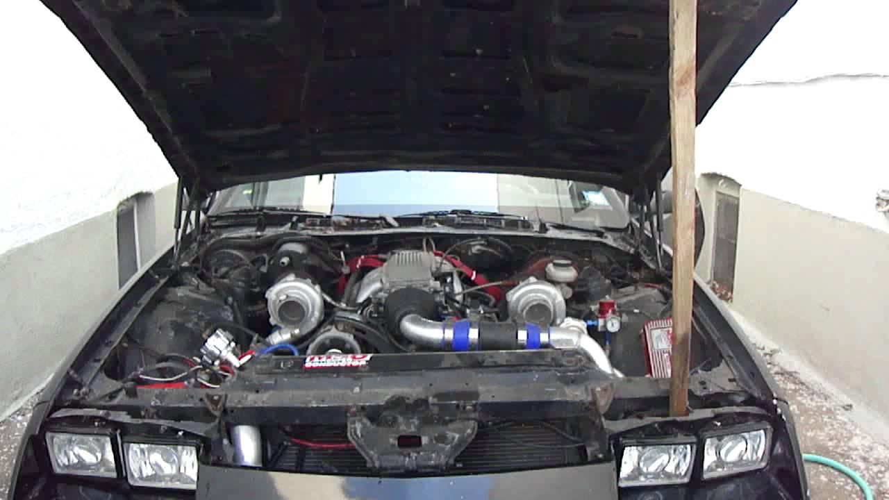 86 Iroc Z T3 T4 Twin Turbo 350 Block V8 Youtube