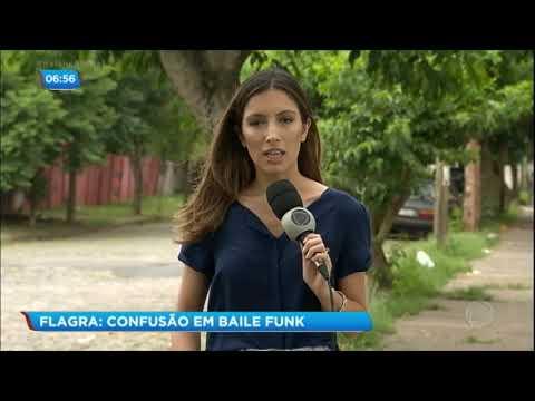 Baile funk termina em confusão e correria em Porto Alegre RS