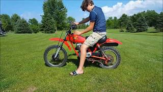 The Honda Xr 80 is Fast!!!