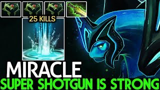MIRACLE [Morphling] Super Shotgun is Strong 25 Kills Rampage 7.23 Dota 2