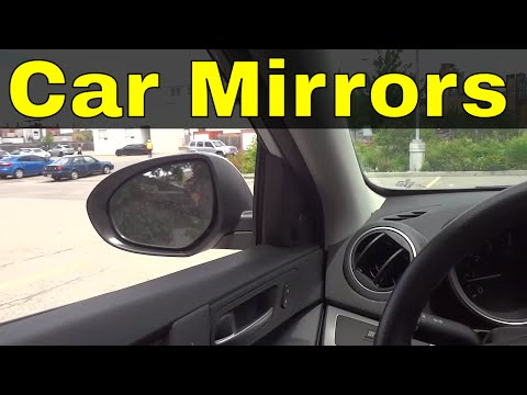 How To Adjust Your Car Mirrors-Driving Lesson
