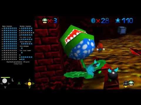 Star Revenge 2: Night of Doom - Bowser's New Sky Palace: Key 2 Savestateless